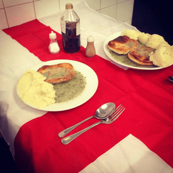 St Georges Day Pie and Mash celebrations
